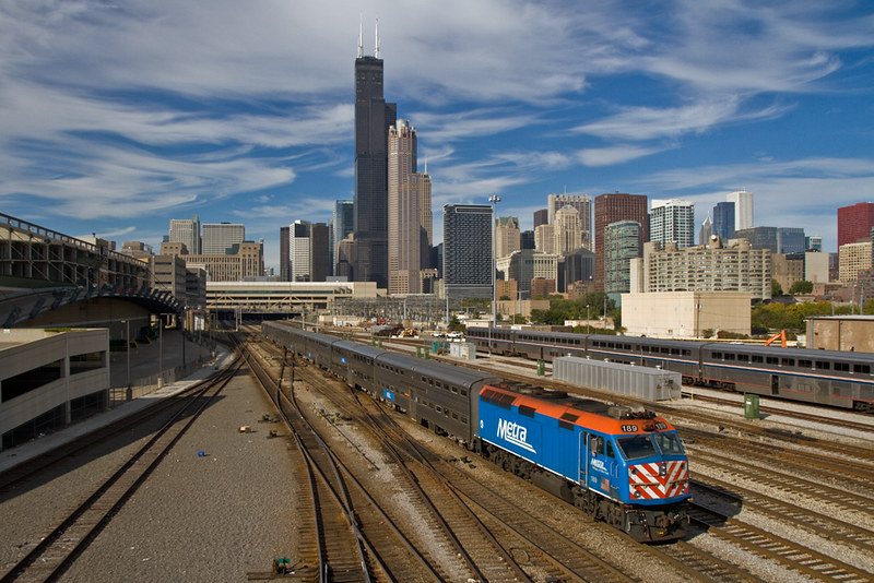 Metra growth of railroad and cities